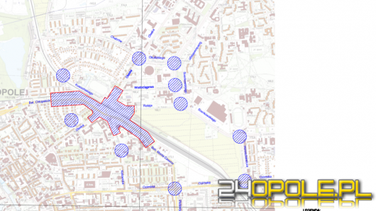Uwaga kierowcy! Ruszyła przebudowa skrzyżowania przy dworcu Opole Wschodnie