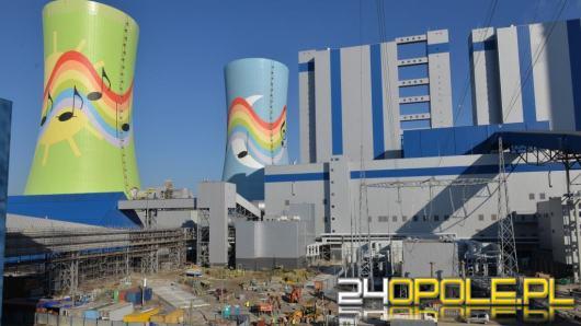 Blok nr 5  elektrowni PGE w Opolu rozpoczął produkcję energii