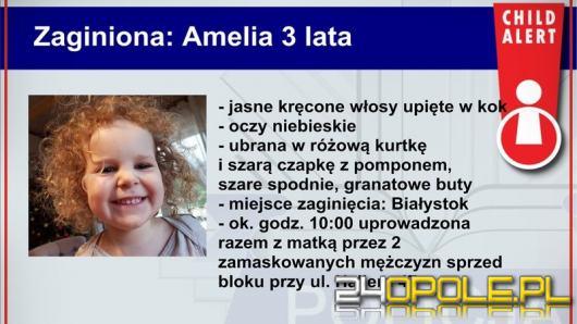 Cała Polska szuka 3-letniej Amelki i jej mamy. Został uruchomiony Child Alert