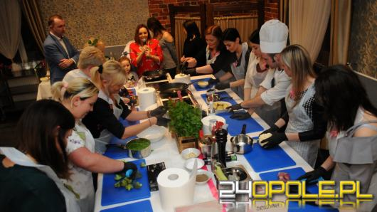 Panie sprawdziły się kulinarnie w hotelu Spałka w Kluczborku
