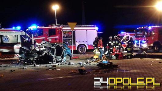 Tragiczny wypadek w Malichowie, jedna osoba nie żyje, kilka jest rannych