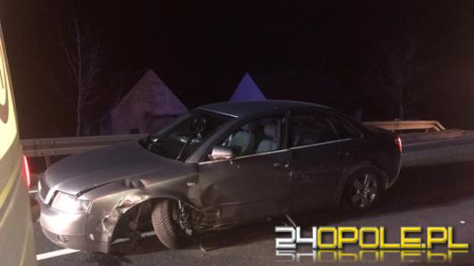 Jedna osoba ranna po zderzeniu trzech aut między Opolem a Zawadą