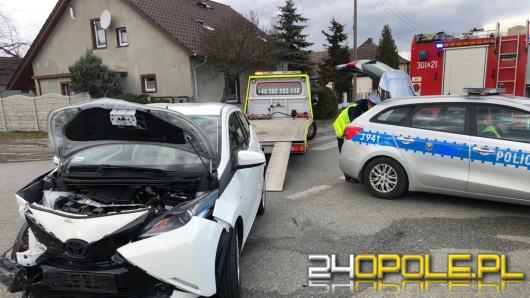 Nie ustąpienie pierwszeństwa przyczyną kolizji na skrzyżowaniu w Opolu