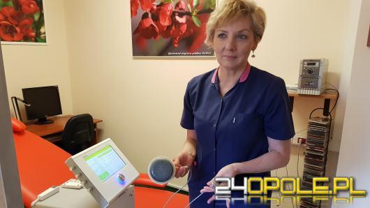 W Opolskim Centrum Onkologii pacjenci mogą już korzystać z aparatu do kojenia bólu