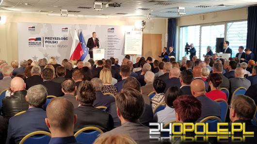 Konwencja regionalna Koalicji Obywatelskiej w Opolu. Nie zabrakło krytyki i żartów z PiS