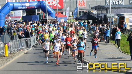 Blisko 700 biegaczy wystartowało w 9. Maratonie Opolskim