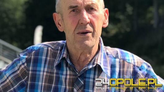 Policjanci z Krapkowic poszukują zaginionego Józefa Łysoń