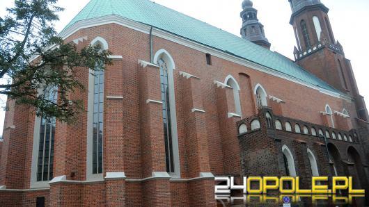 Podczas prac konserwatorskich odkryto dodatkowe pomieszczenie w opolskiej Katedrze