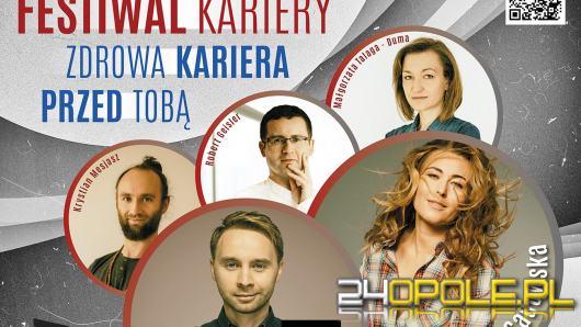 """Już jutro Festiwal Kariery  """"Zdrowa kariera przed Tobą"""""""