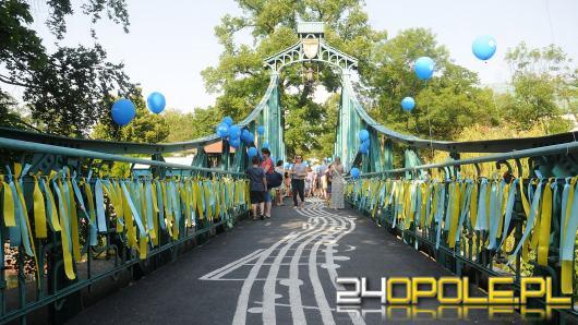 Most Groszowy znów nabrał barw tuż przed Festiwalem