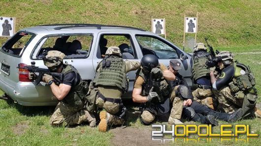 Szkolenie balistyczne opolskich kontrterrorystów