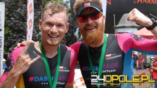 Ponad pół tysiąca zawodników zmierzyło się z triathlonem w Opolu