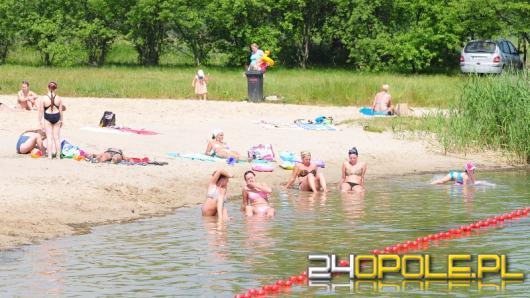 W Dobrzeniu Wielkim na kąpielisku zakaz kąpieli. Wykryto bakterie kałowe