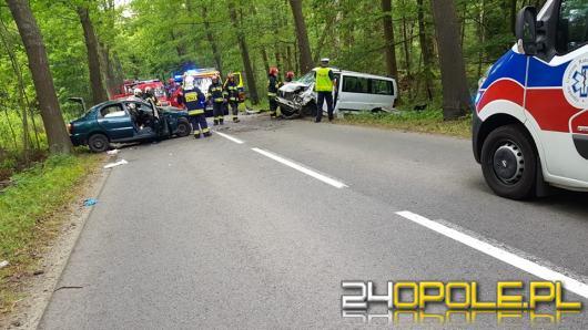 Wypadek na trasie Murów-Kup. 5 osób rannych