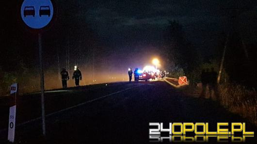 Śmiertelny wypadek w Lubszy. Nie żyje motocyklista