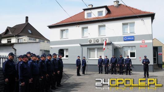 Prószków ma swój komisariat policji. Uroczyste otwarcie w asyście Komendanta Głównego Policji
