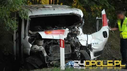 Tragiczny wypadek busa na DK45