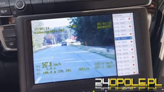24-latek stracił prawo jazdy za prędkość