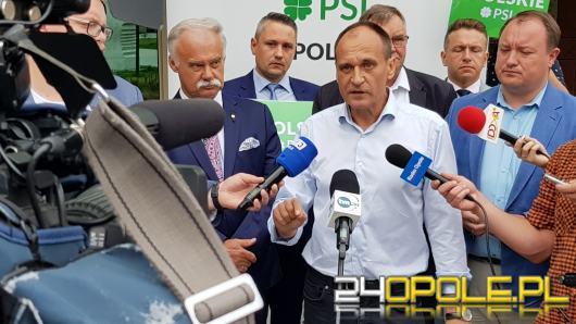 PSL Opolskie przedstawiło listę kandydatów do Sejmu, jedynką Paweł Kukiz