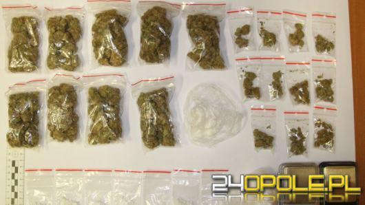 Ponad 200 gramów narkotyków w mieszkaniu 34-latka