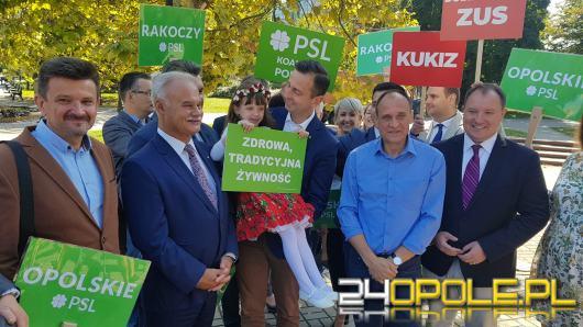Paweł Kukiz i Władysław Kosiniak-Kamysz zainaugurowali kampanię w Opolu
