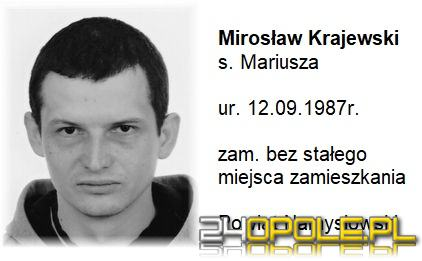 Policjanci poszukują zaginionego Mirosława Krajewskiego