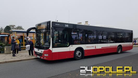 MZK zachęca Opolan do skorzystania z autobusu we Wszystkich Świętych