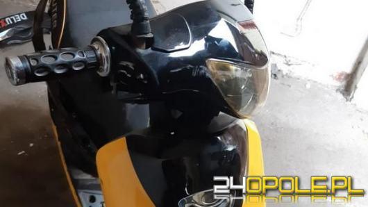 Obywatelskie ujęcie pijanego motorowerzysty w Ujeździe