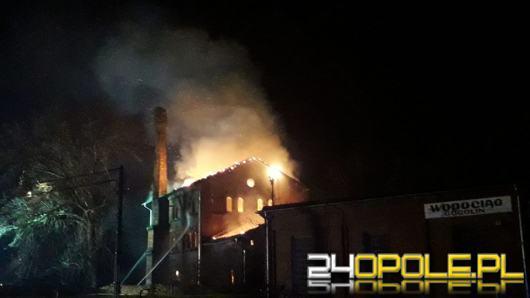 Plaga pożarów na Opolszczyźnie. Pożar w budynku przy stacji w Gogolinie