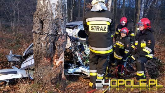 Śmiertelny wypadek między Skarbiszowicami a Szydłowem