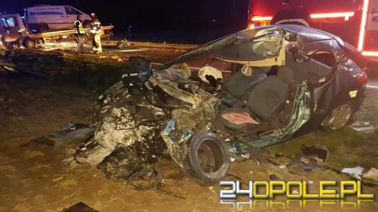 Śmiertelny wypadek w Żużeli. Zginął kierowca osobówki