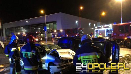 Wypadek w pobliżu CWK w Opolu. Ulica Technologiczna zablokowana