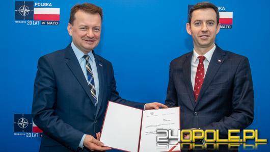 Marcin Ociepa został sekretarzem stanu w Ministerstwie Obrony Narodowej