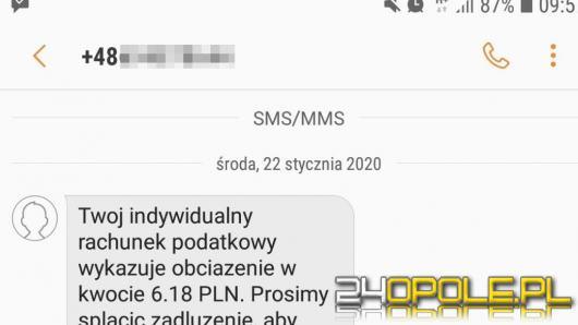 Poprzez fałszywe SMS-y kradną tożsamość