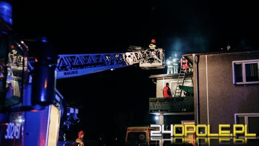 Mężczyzna zasłabł na dachu swojego domu, nie udało się go uratować