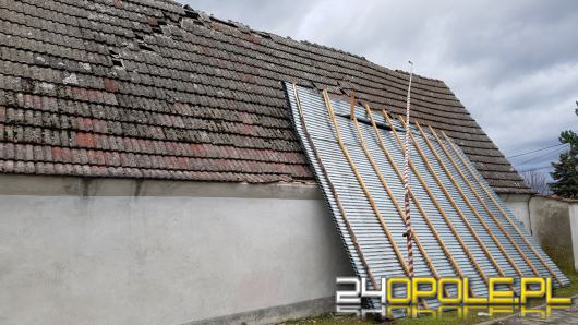 Zostali wezwani do zdarzenia, jak wrócili w remizie nie było dachu