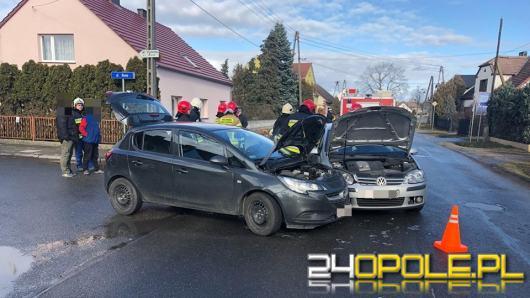 Wypadek w Tarnowie Opolskim. 2 osoby zostały ranne