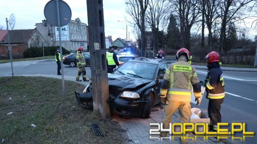 Policyjny pościg po ulicach Kluczborka. Kierowca pijany
