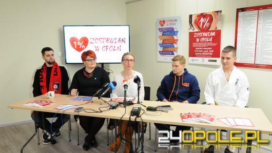 Ruszyła kampania informacyjna - 1% zostawiam w Opolu