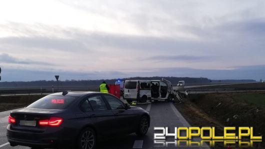 Śmiertelny wypadek na drodze w Bierzowie. Nie żyje 68-letni mężczyzna