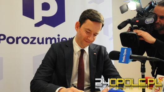 Marcin Ociepa chce, by Andrzej Duda wygrał wybory na Opolszczyźnie