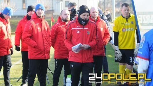 Trener Odry Opole spotkał się z kibicami