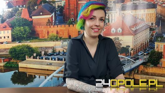 Katarzyna Pawłowska - lubię awangardowe fryzury