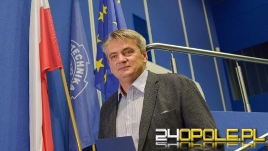 Rektor Politechniki Opolskiej wydał komunikat do mediów. Jest zasmucony postawą prezydenta