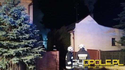 7 zastępów straży walczyło z pożarem stodoły w Dylakach