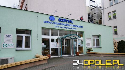 Szpital ginekologiczny wstrzymał porody rodzinne i odwiedziny pacjentek