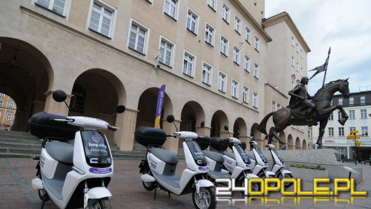 Elektryczne skutery już w Opolu. Kto może z nich skorzystać?