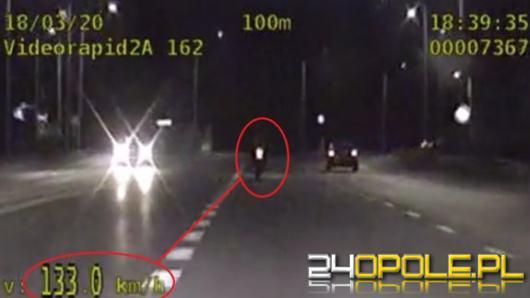 27-letni motocyklista uciekał przed policją ulicami Opola