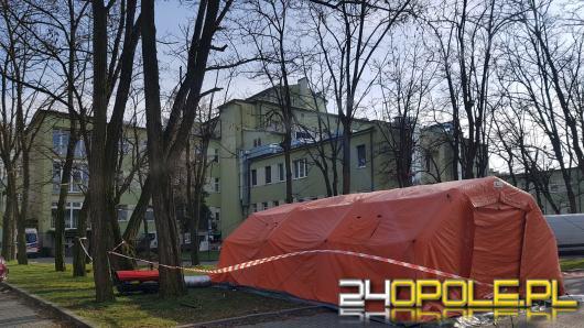 Policjanci zatrzymali mężczyznę, który wczoraj uciekł ze szpitala zakaźnego w Kędzierzynie-Koźlu