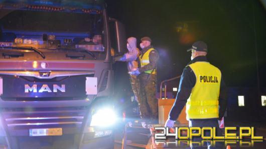 Nocna zmiana - policja pokazuje jak wygląda ich praca na granicy
